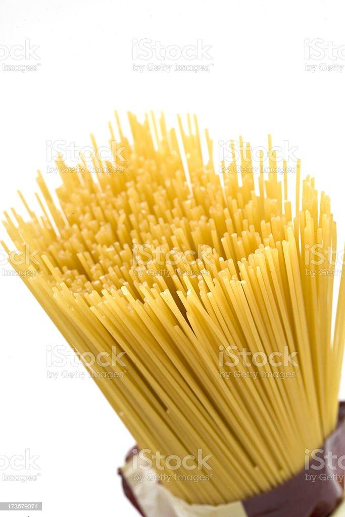 Spaghetti noodles stock photo
