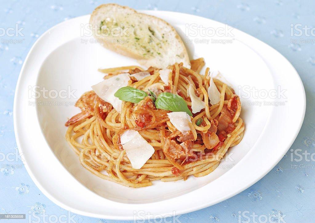 spaghetti royalty-free stock photo