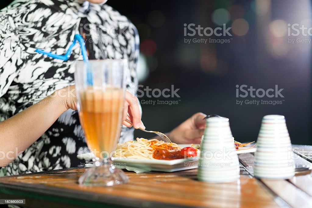 Spaghetti royalty-free stock photo