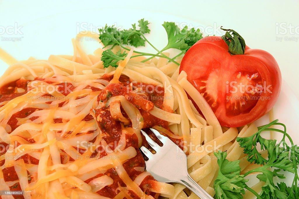 Spaghetti Series : 12 royalty-free stock photo
