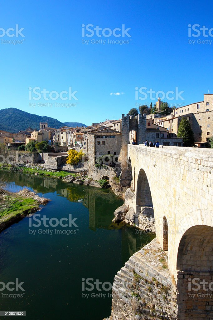 Spain - Besalú stock photo