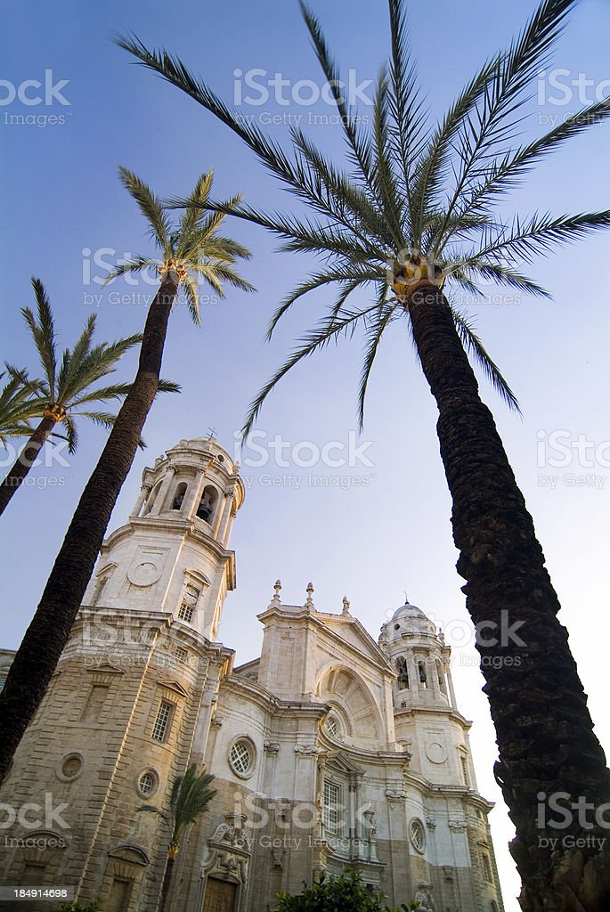 spain cathedral royalty-free stock photo