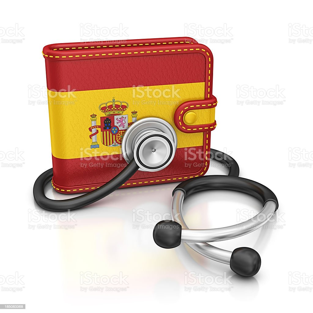 spain diagnostic royalty-free stock photo