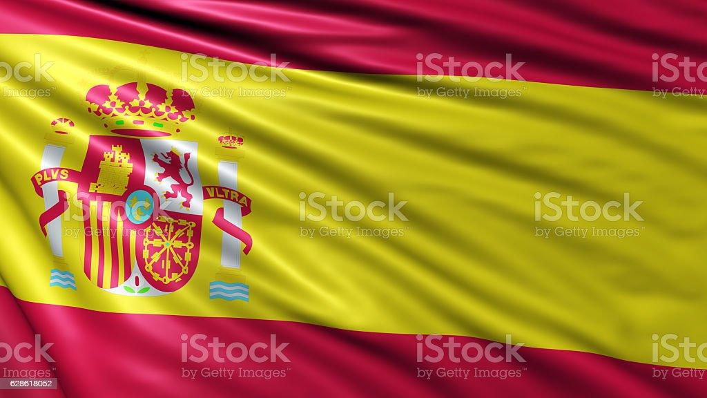 Spain Flag stock photo