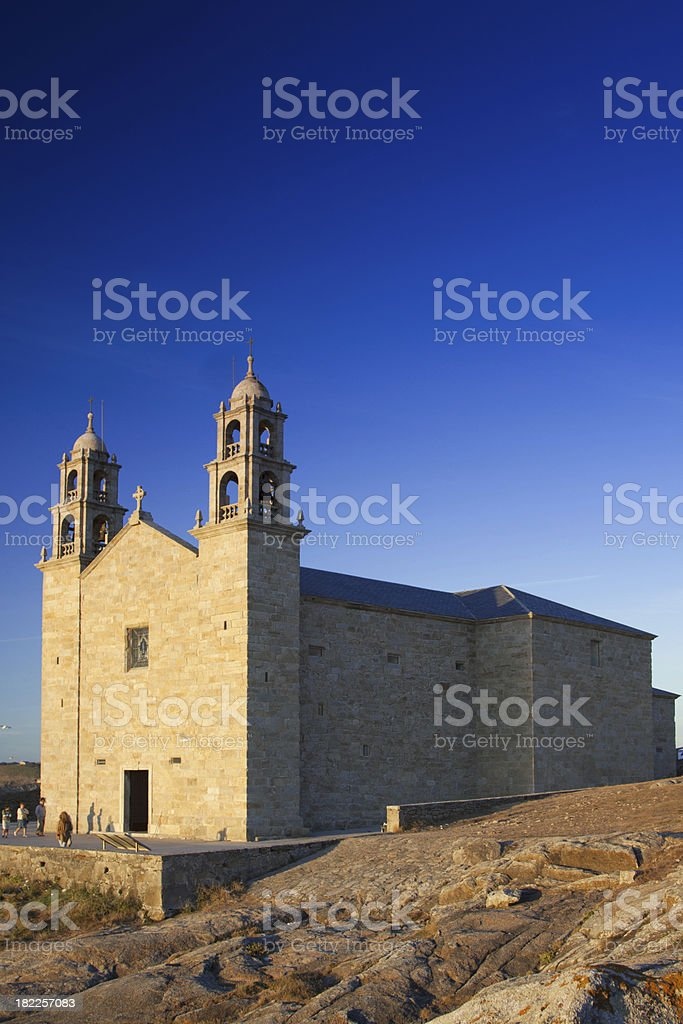 Spain, Galicia, Muxia, Virxe de la Barca Sanctuary royalty-free stock photo