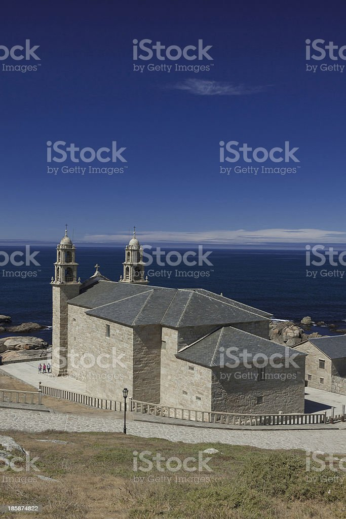 Spain, Galicia, Muxia, Virxe de la Barca Sanctuary royalty-free stock photo