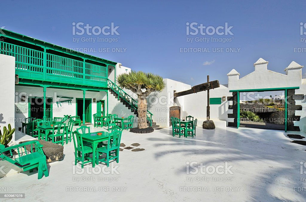 Spain, Lanzarote stock photo