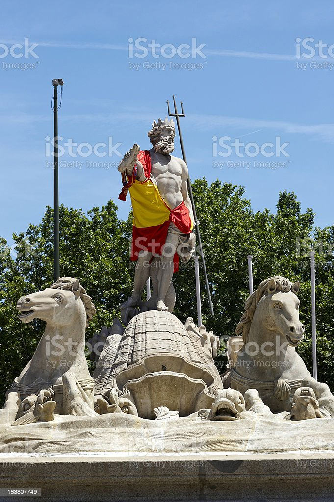 Spain monument. Madrid royalty-free stock photo