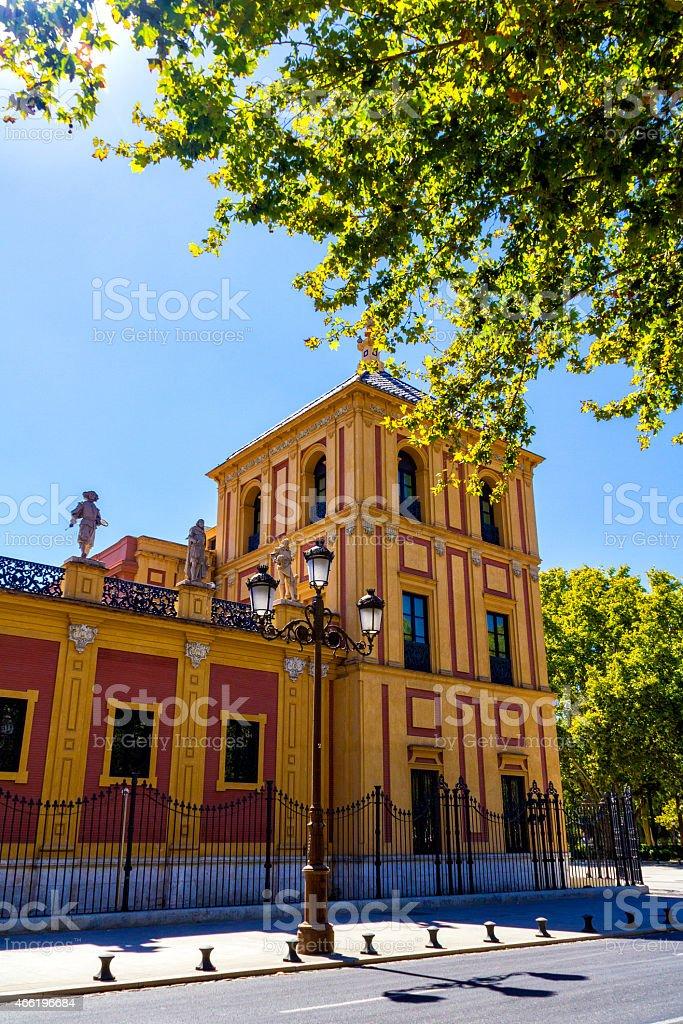 Spain, Palacio de San Telmo stock photo