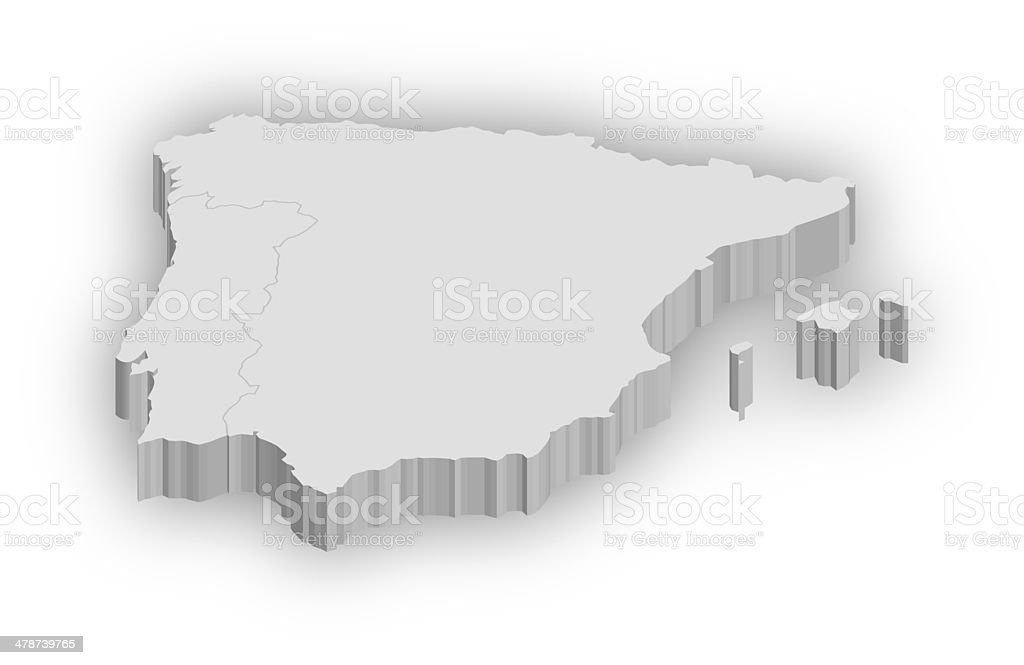 Spain & Portugal stock photo