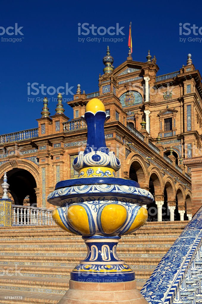 Spain Square stock photo