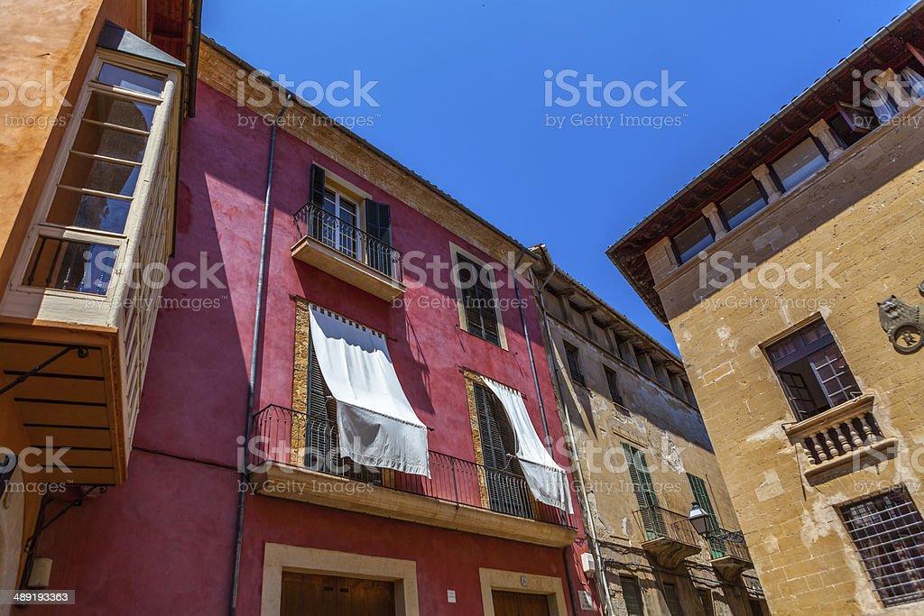 Spain street stock photo
