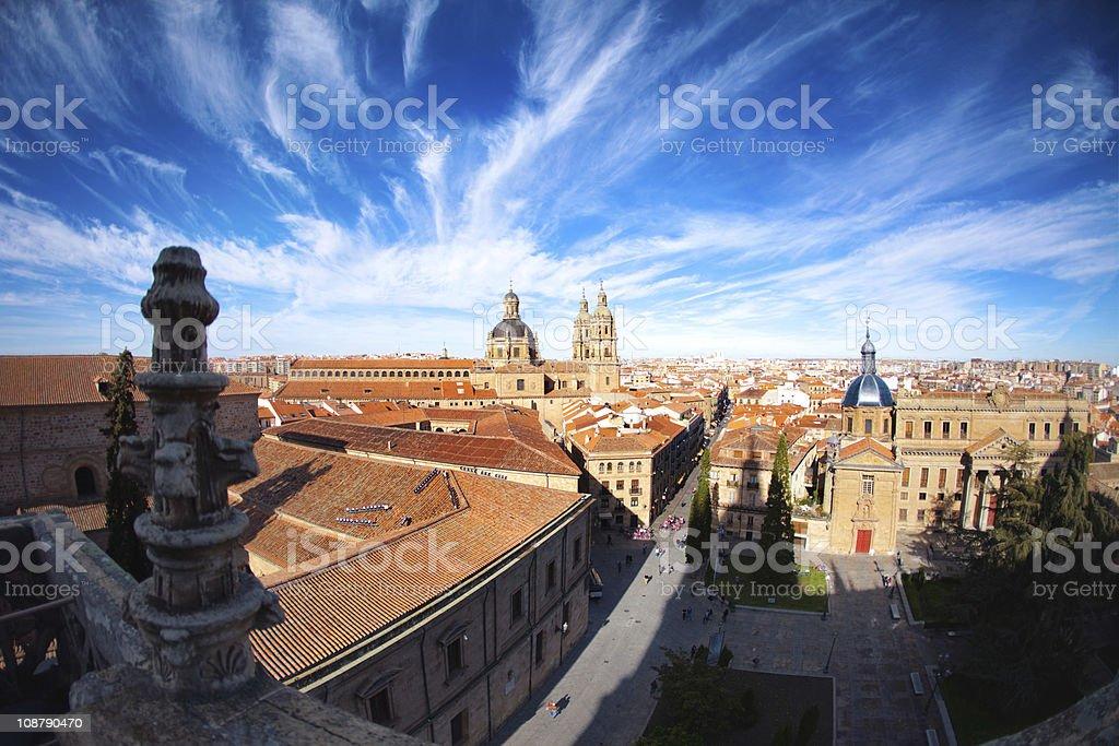 Spain, the city of Salamanca stock photo