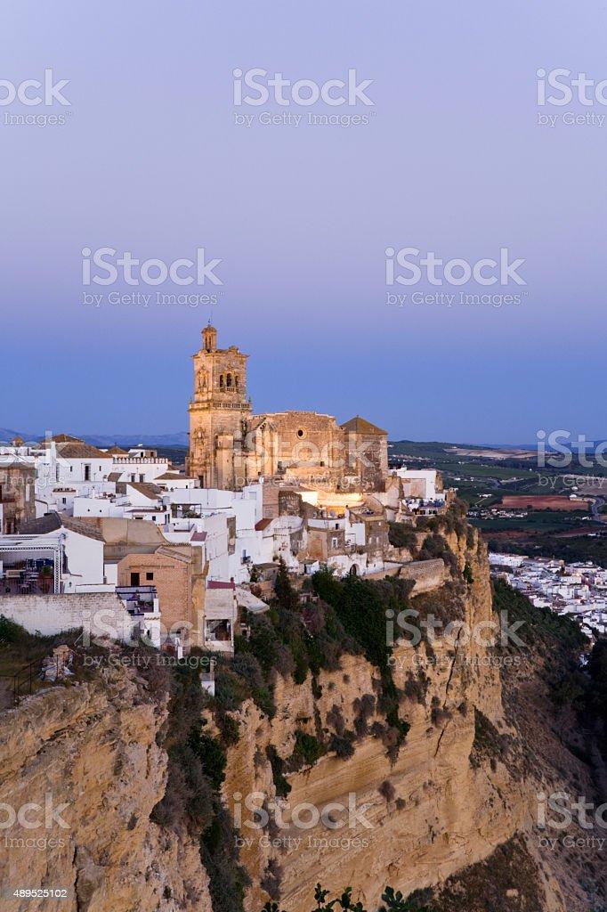 Spain,Andalusia,Arcos de la Frontera,Church,San Pedro stock photo