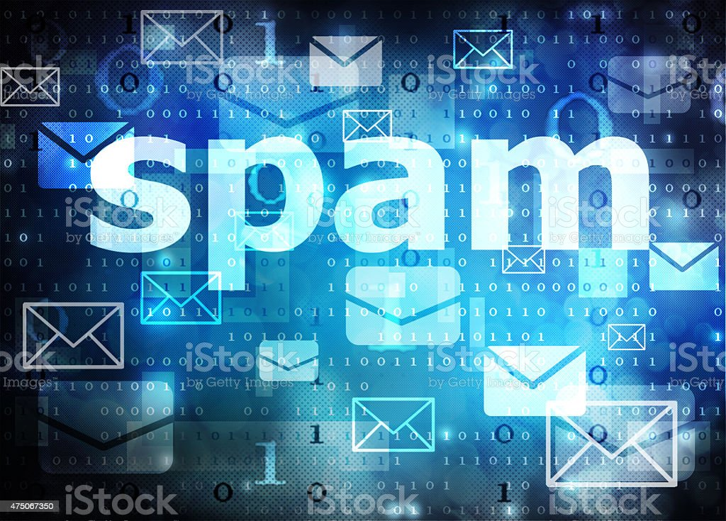 spam stock photo