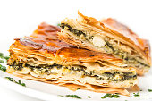 Spanakopita (greek spinach pie)