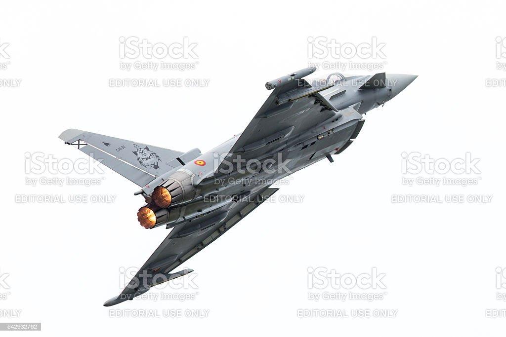 Spanish Air Force Eurofighter Typhoon stock photo