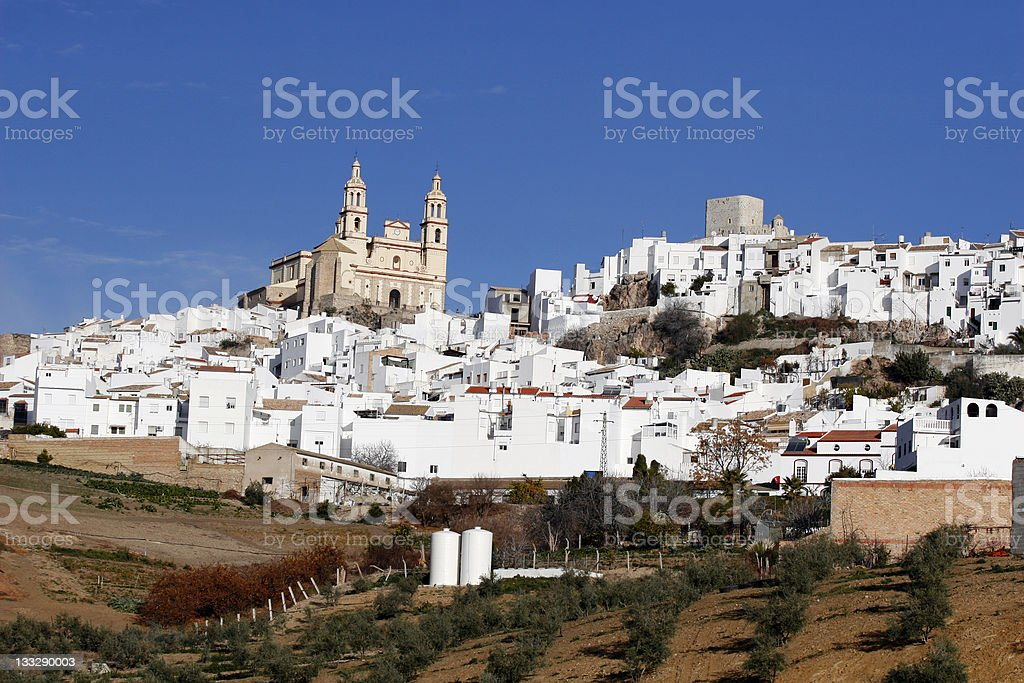 Spanish Andalucian City stock photo