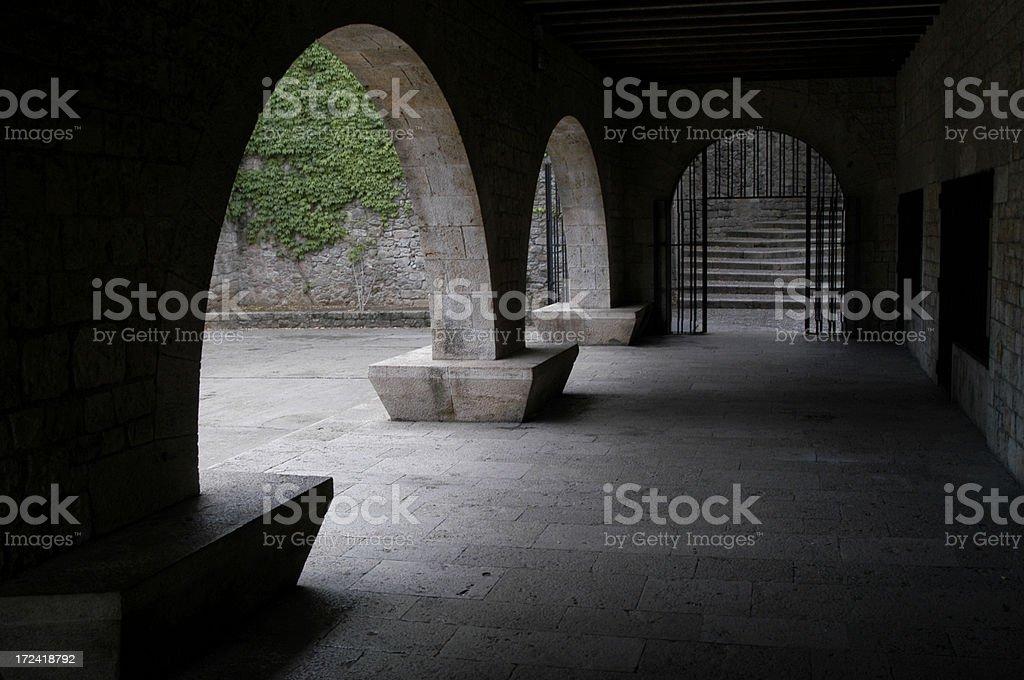 Spanish Arches royalty-free stock photo
