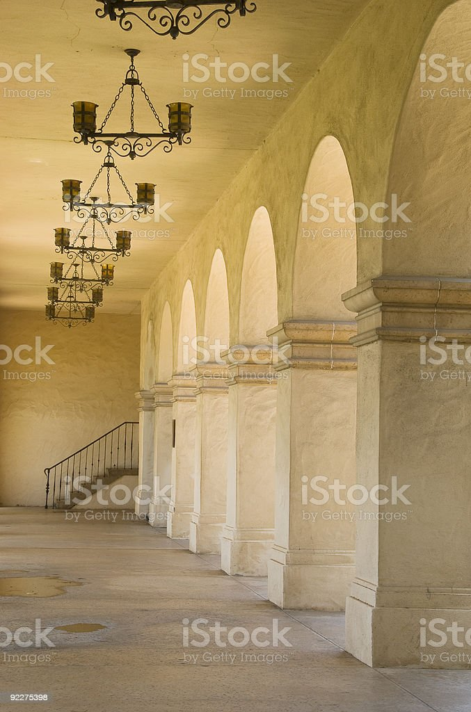 Spanish Arches-series stock photo