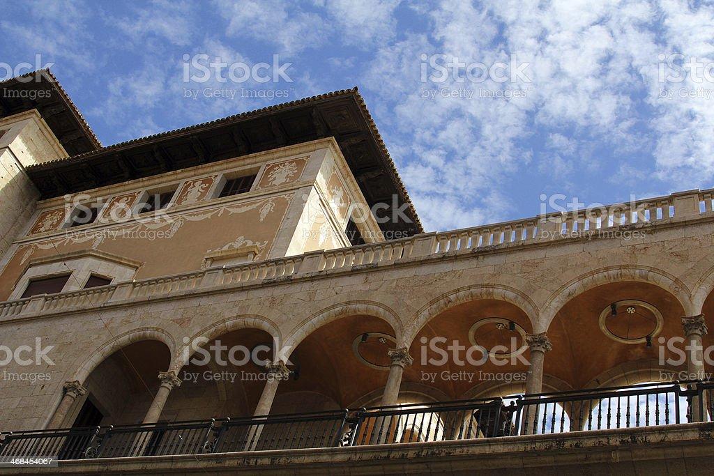 Spanish architecture royalty-free stock photo