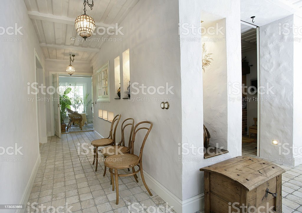 spanish archtecture royalty-free stock photo