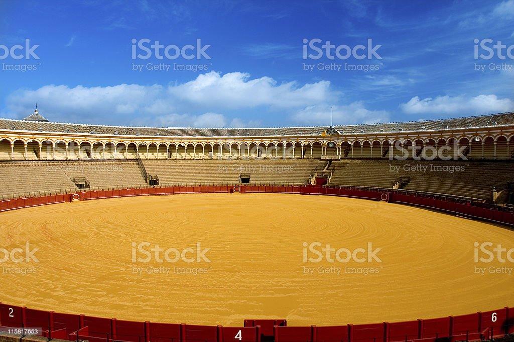 spanish arena royalty-free stock photo