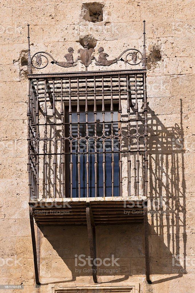 Spanish balcony royalty-free stock photo