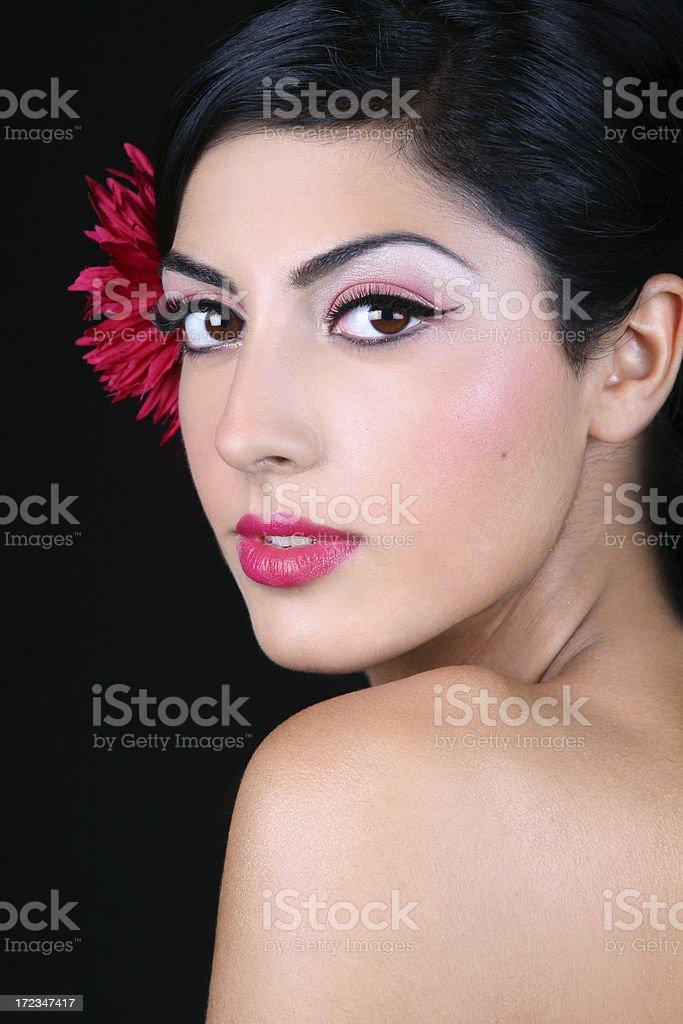 Spanish Beauty royalty-free stock photo