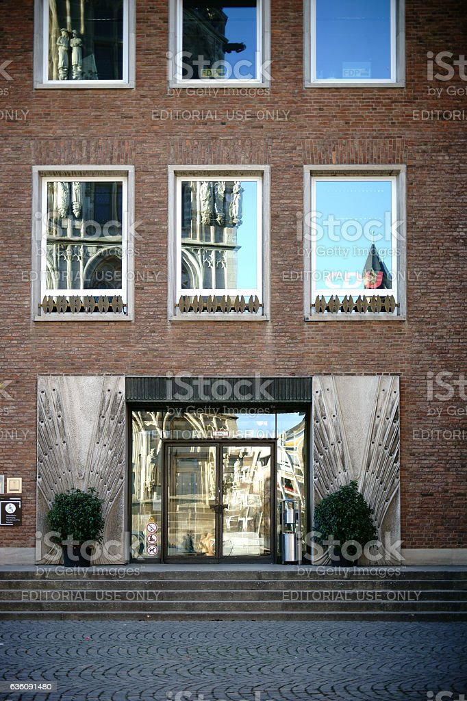 Spanish Building Cologne stock photo