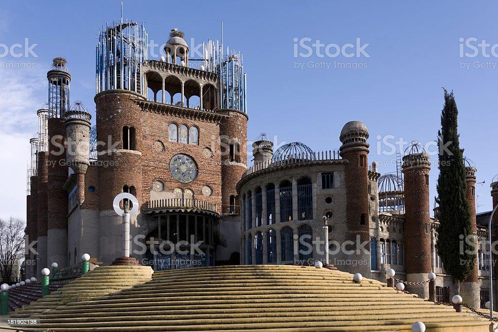Spanish building royalty-free stock photo