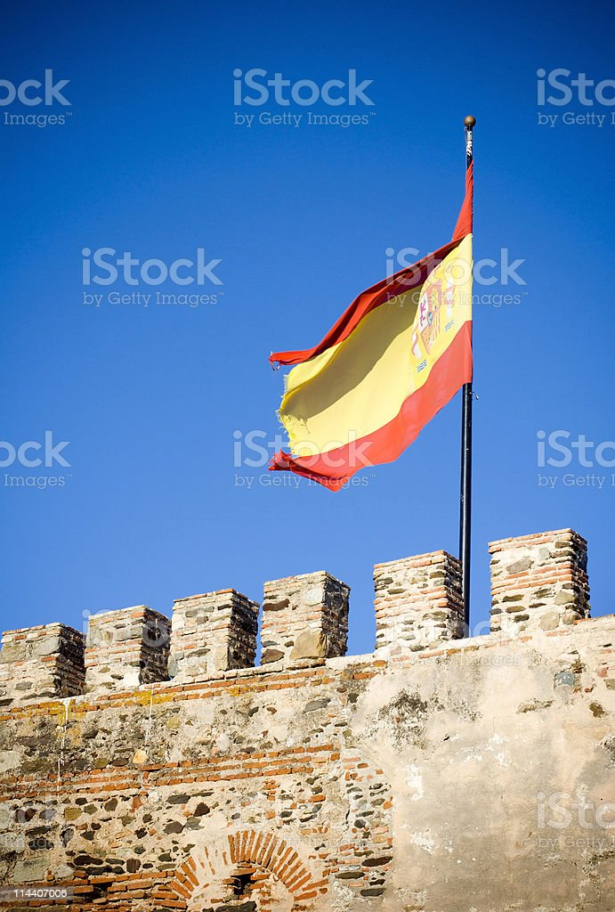 Spanish Castle stock photo
