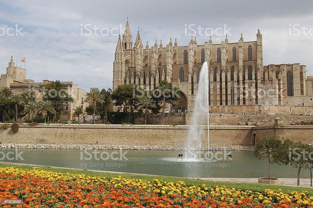 Spanish cathedral royalty-free stock photo
