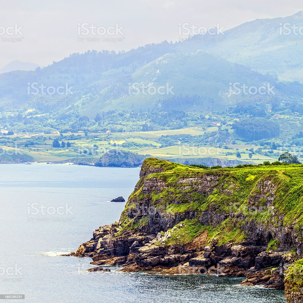 Spanish coast. stock photo