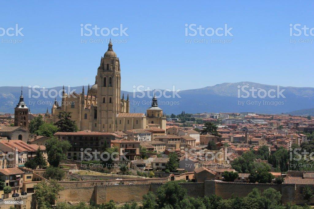 Spanish countryside stock photo