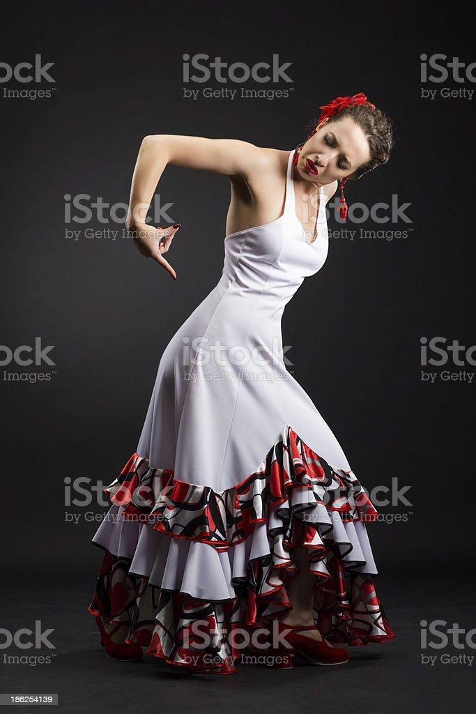 Spanish dancer royalty-free stock photo