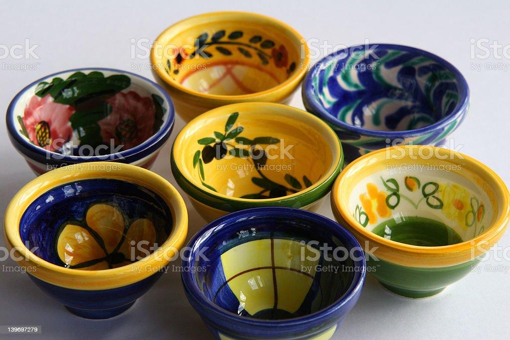 Spanish dishes royalty-free stock photo