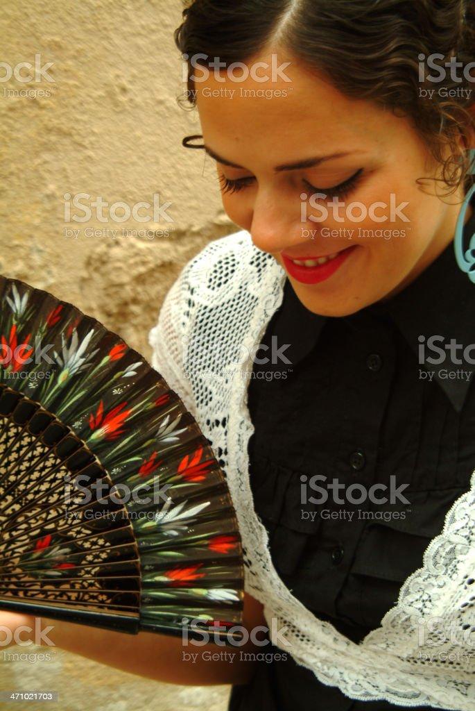 Spanish fiesta royalty-free stock photo