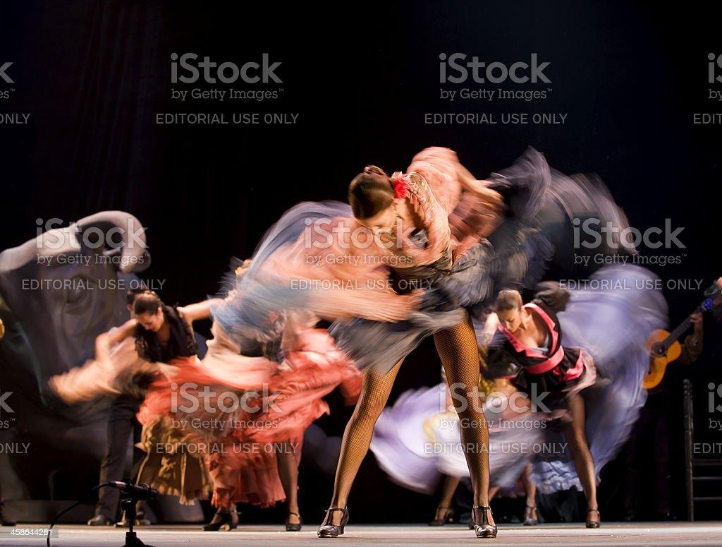 Spanish flamenco Dance stock photo