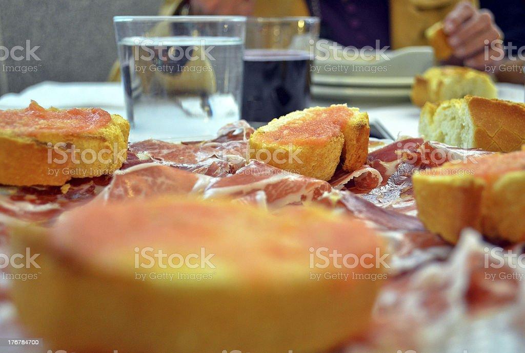 Spanish food royalty-free stock photo