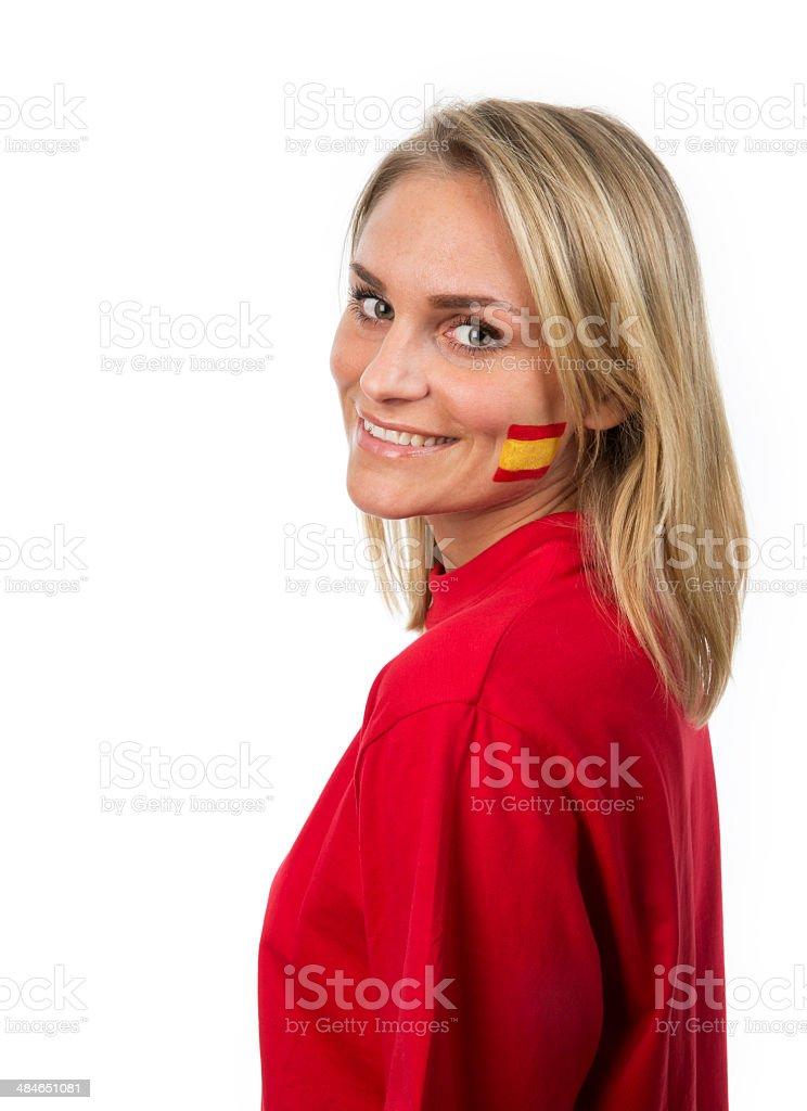 Spanish Girl stock photo