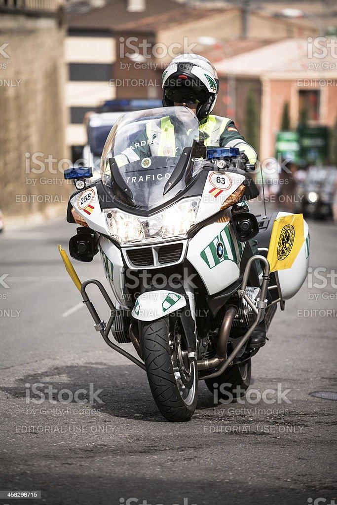 Spanish Guardia Civil stock photo