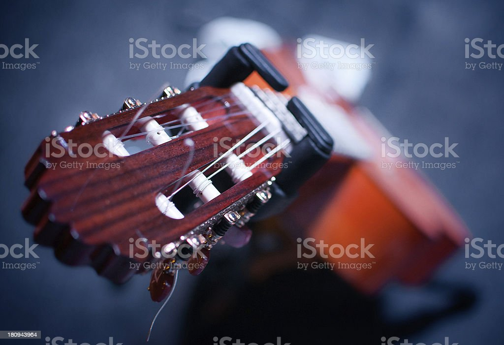 Spanish Guitar royalty-free stock photo
