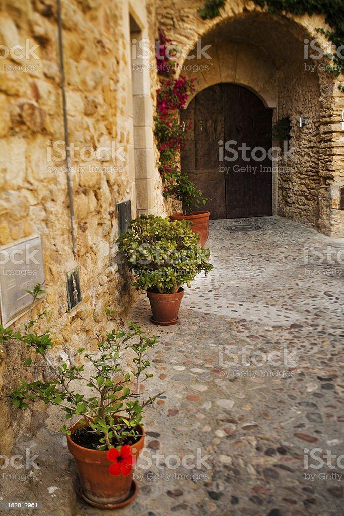 Spanish House royalty-free stock photo