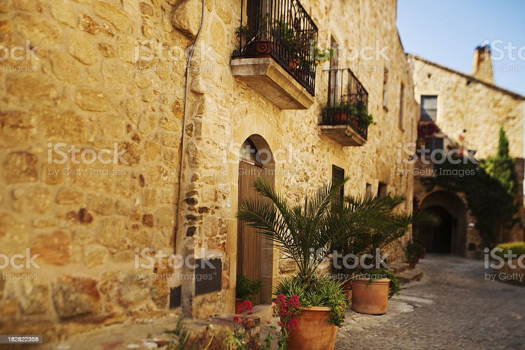 Spanish House royalty-free stock photo