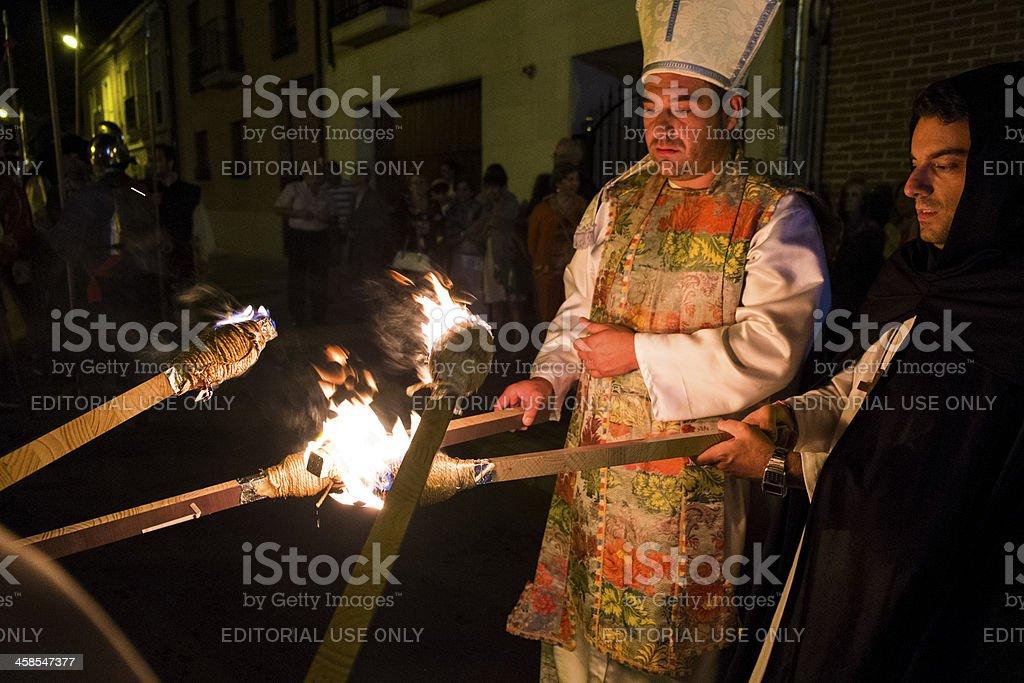Spanish Inquisition stock photo