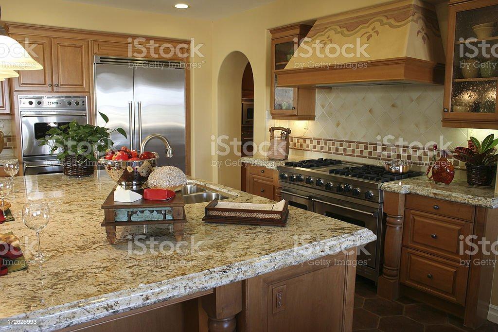 Spanish kitchen royalty-free stock photo