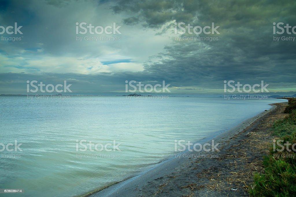 Spanish Lagoon stock photo