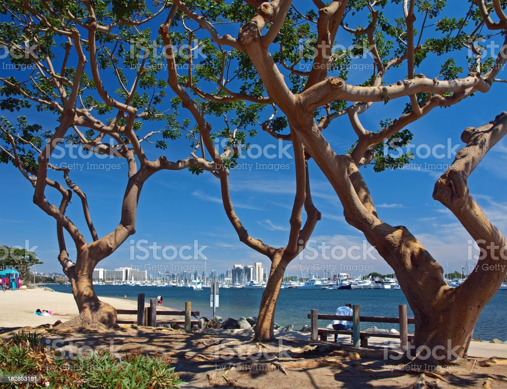 Spanish Landing Park royalty-free stock photo