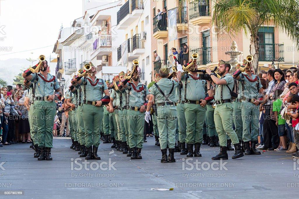 Spanish Legionnaires stock photo